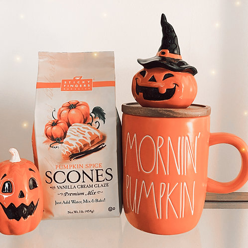 Morning Pumpkin Rae Dunn Mug