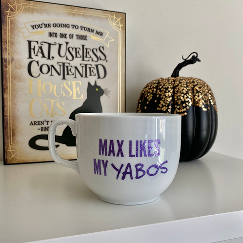 Max Likes Yabos - Hocus Pocus Mug
