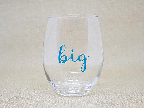 My Big Rules Stemless Wine Glass