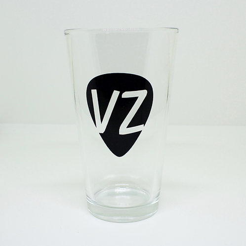 Guitar Pick Pub Glass