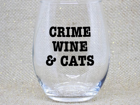 9 True Crime Wine Glasses You Need for Binge-watching Murder Shows