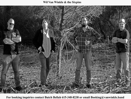 Wil Van Winkle & the Sixpins - 10 Questions Interview
