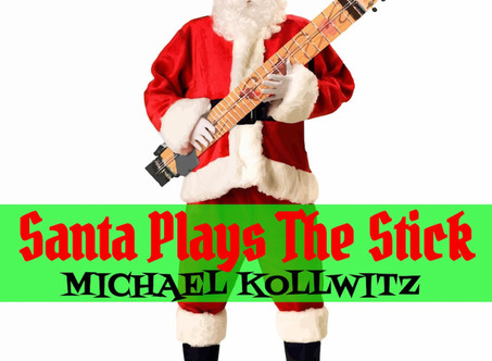 Michael Kollwitz Releases New Christmas Album -'Santa Plays The Stick'