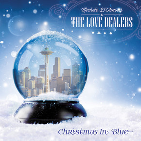 Michele D'Amour and the Love Dealers Release -'Christmas in Blue'