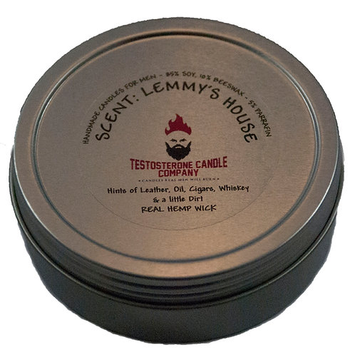 Lemmy's House 4oz Candle with Screw Top Tin