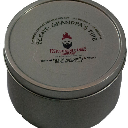 Grandpa's Pipe 8oz Candle