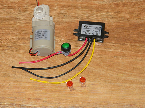 Pump 12v 14w and DC converter (free postage for orders over $170)
