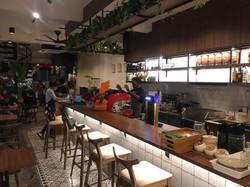 Penang Cafe Bar Table and Stools