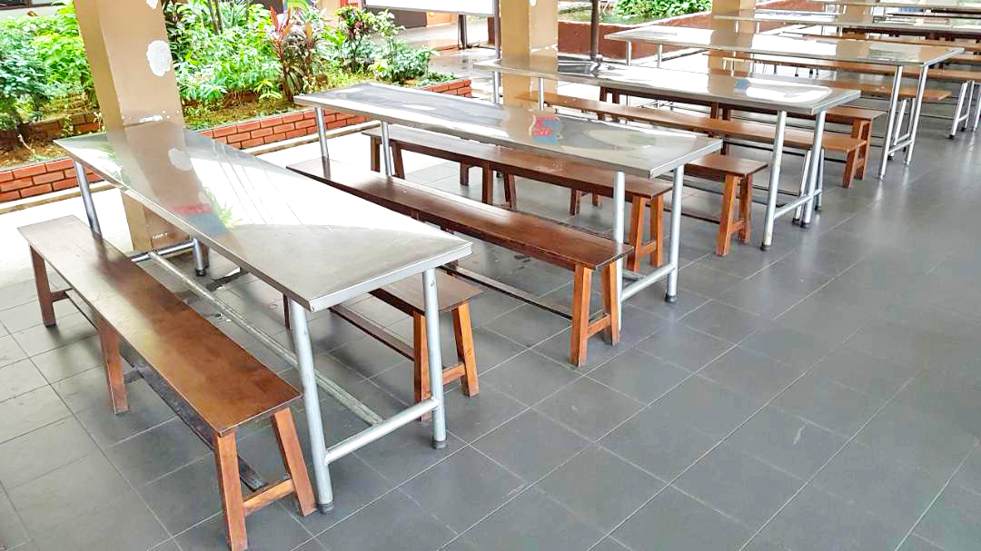 School Canteen Bench