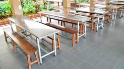 School Canteen Bench