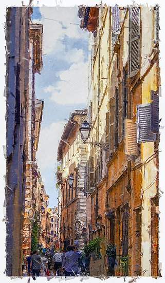 «Rome Streets-07»