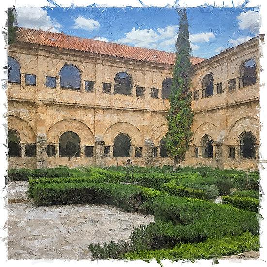 «Abadia Retuerta Courtyard»