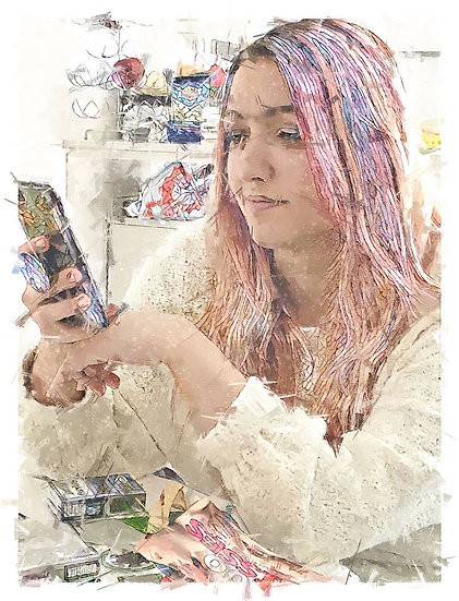 «Madonna with mobile» – price from