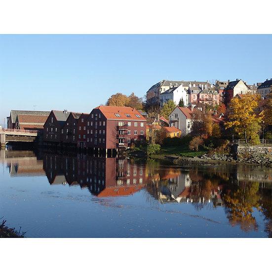 Nidelva - Trondheim, NORWAY