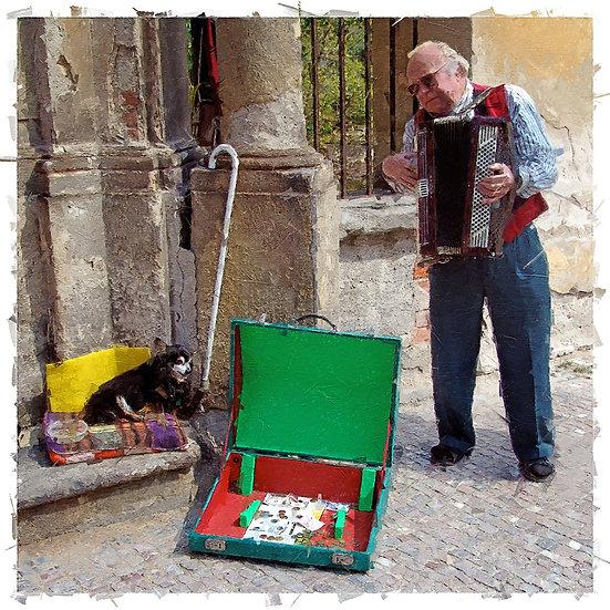 «Street Musician Prague»