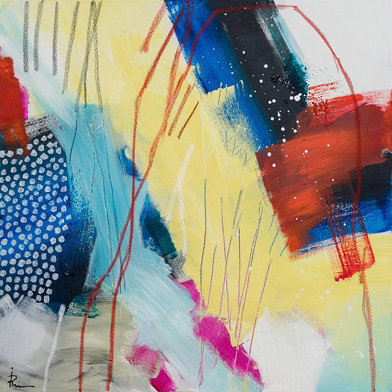 «Untitled-67»-akryl på lerret 50x50cm
