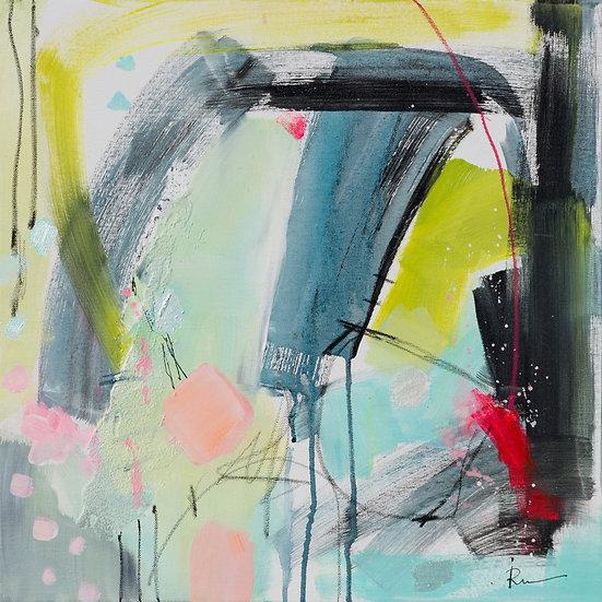«Untitled-44»-akryl på lerret 50x50cm