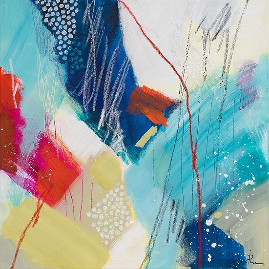 «Untitled-66»-akryl på lerret 50x50cm