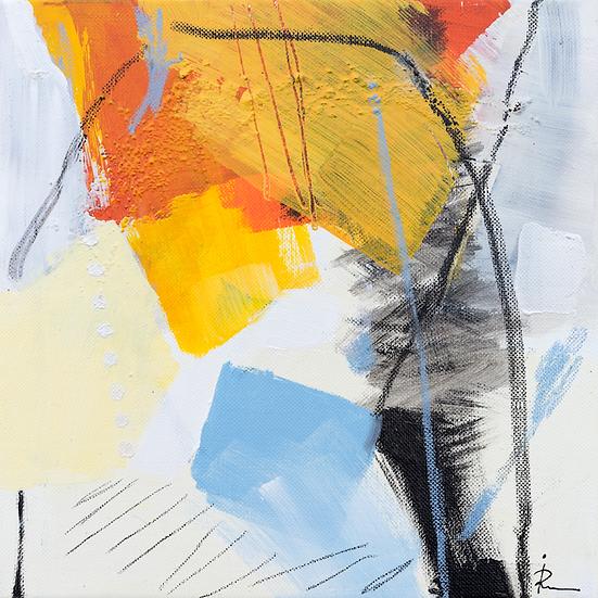 «Untitled-305»-akryl på lerret 30x30cm
