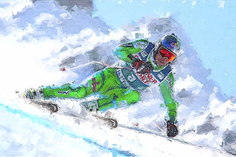 «Alpine skiing-3» – price from
