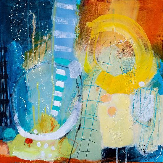 «Untitled-38»-akryl på lerret 50x50cm