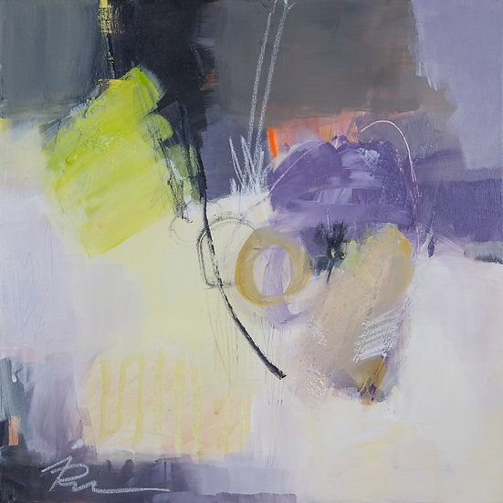 «Untitled-21»-akryl på lerret 50x50cm