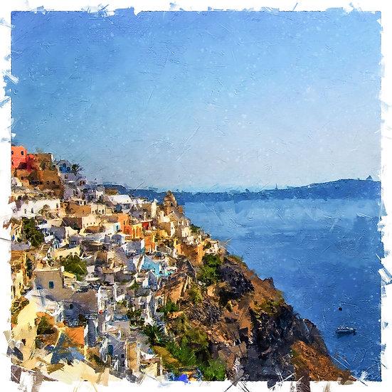 «Coastline Santorini»