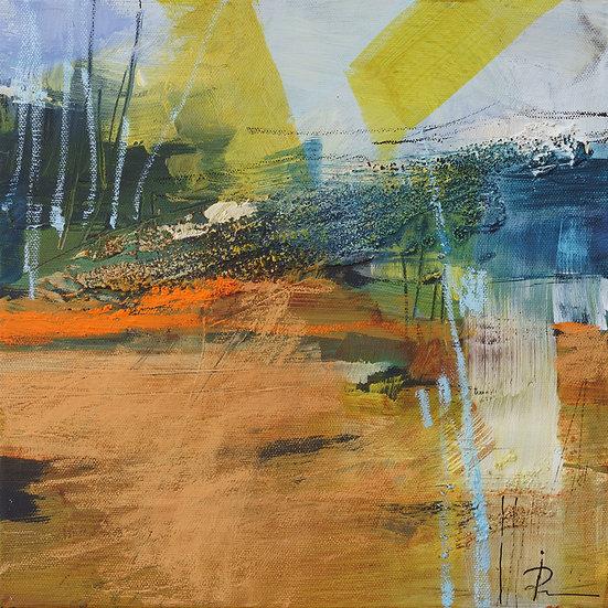 «Untitled-327»-akryl på lerret 30x30cm