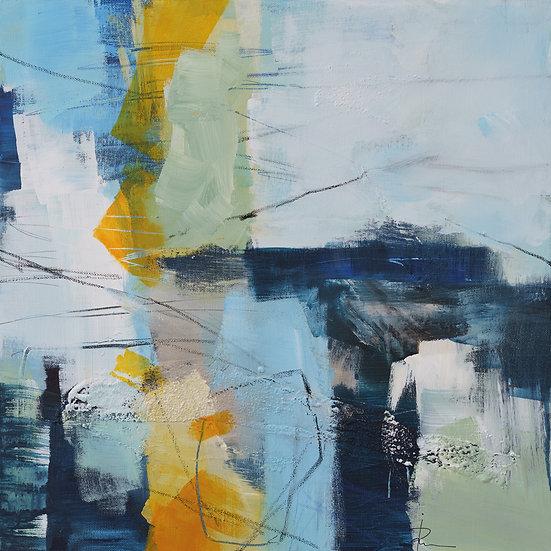 «Untitled-85»-akryl på lerret 50x50cm