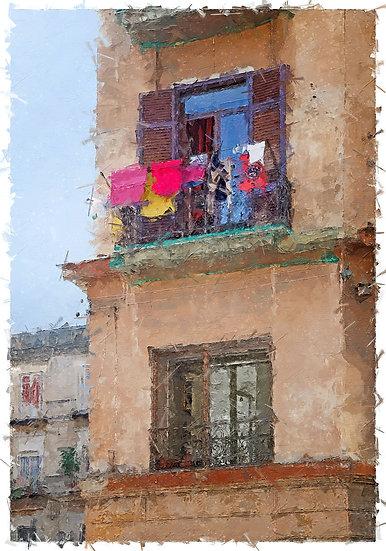 «Balcony from Napoli»
