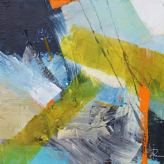 «Untitled-314»-akryl på lerret 30x30cm