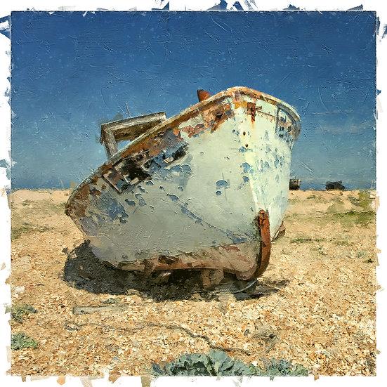 «Abandoned Boat»