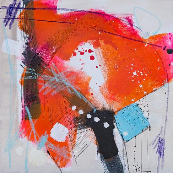 «Untitled-50»-akryl på lerret 50x50cm