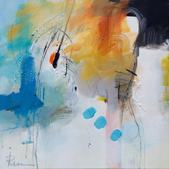 «Untitled-26»-akryl på lerret 50x50cm