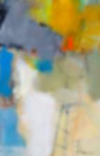 New Lock-1 - Abstrakt maleri av Ira Ivanova