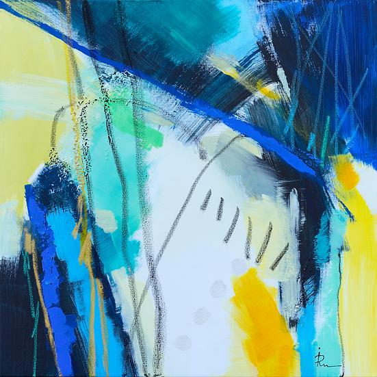 «Untitled-65»-akryl på lerret 50x50cm