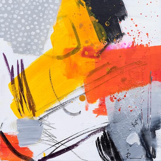 «Untitled-303»-akryl på lerret 30x30cm