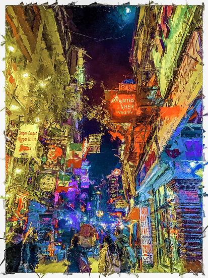 «Busy Street Mexico»