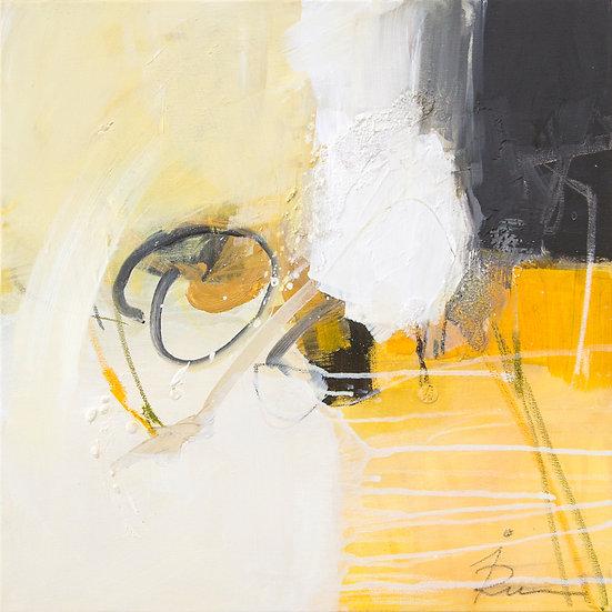 «Untitled-17»-akryl på lerret 50x50cm