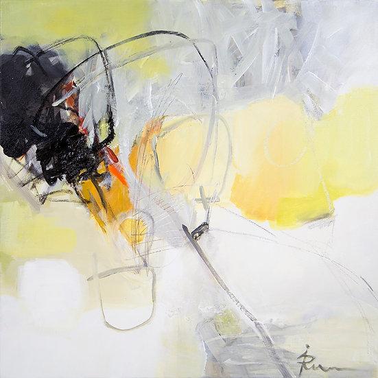 «Untitled-20»-akryl på lerret 50x50cm