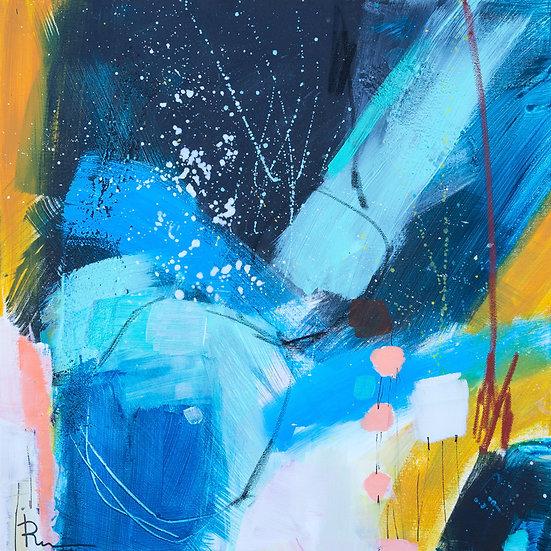 «Untitled-58»-akryl på lerret 50x50cm