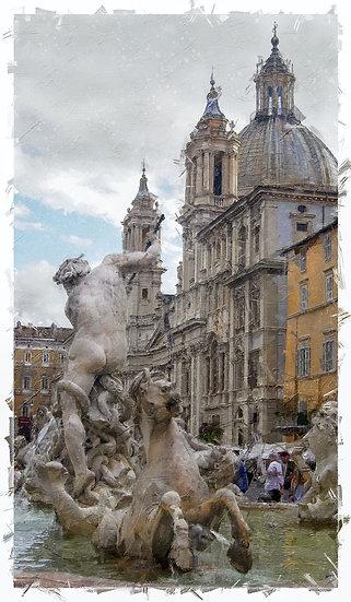 «Rome Piazza Navona»