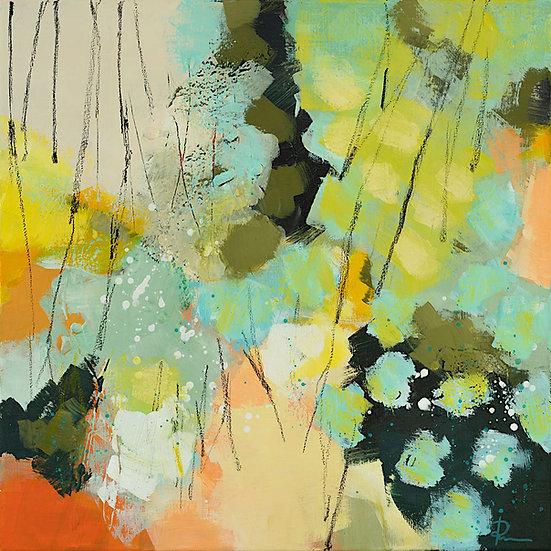 «Untitled-57»-akryl på lerret 50x50cm
