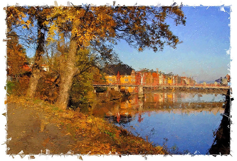 «Nidar river-autumn» – price from