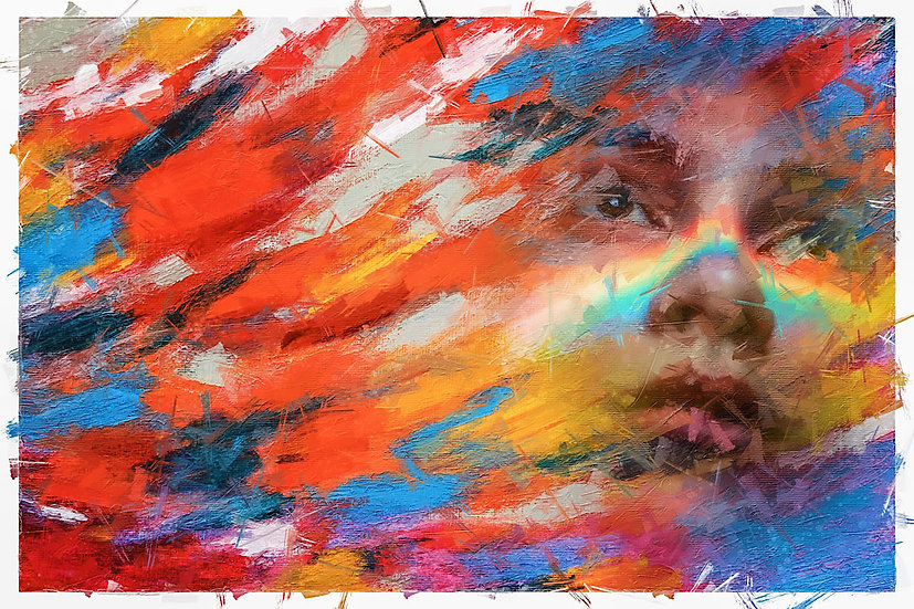 «Rainbow on Face» – price from