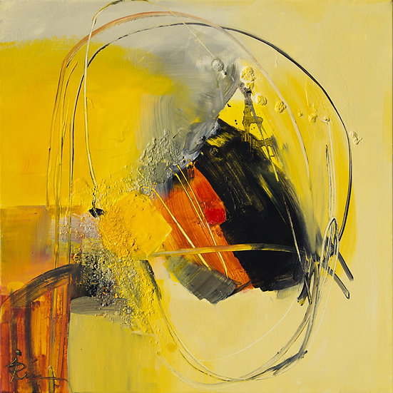 «Untitled-13»-akryl på lerret 50x50cm