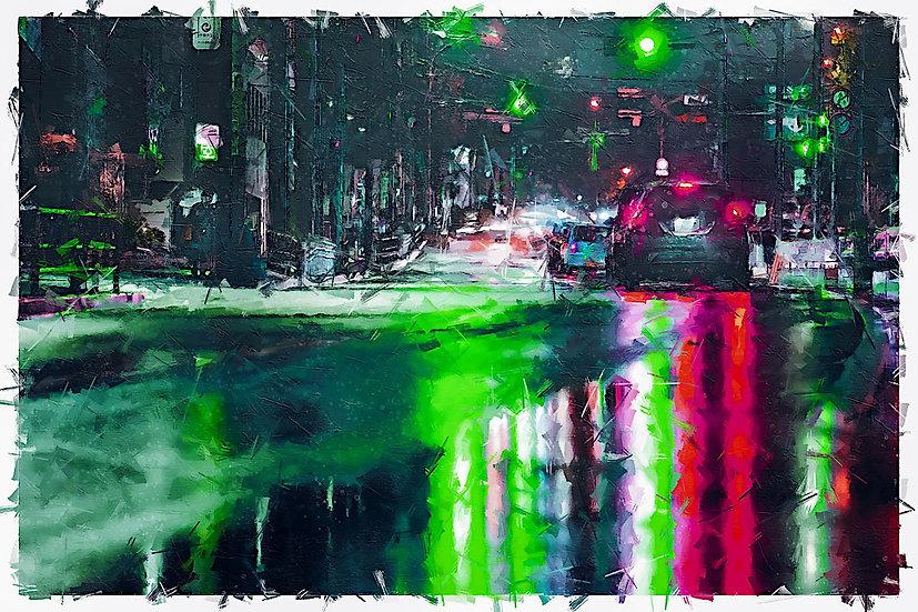 «Night Traffic» – price from