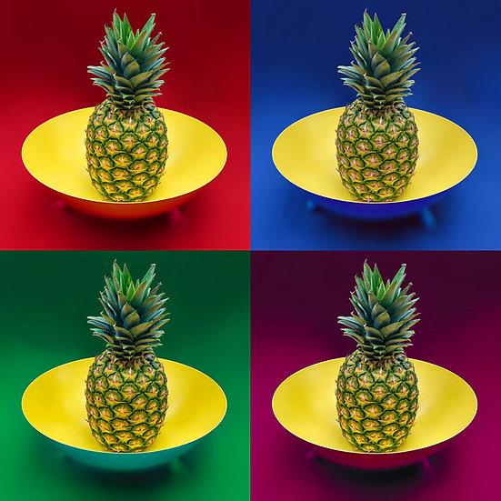 «Ananas-4 farger» – FOTO-image