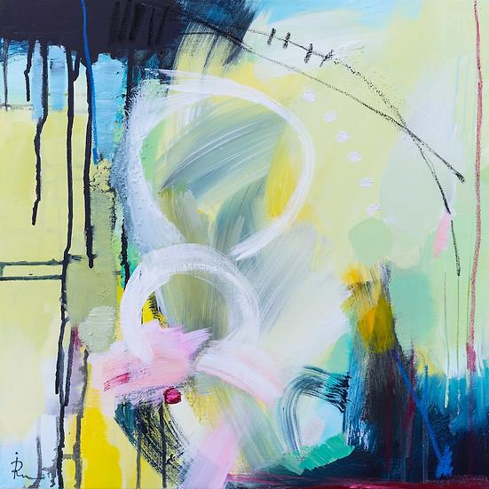«Untitled-64»-akryl på lerret 50x50cm