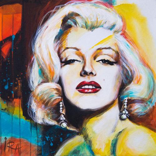 «I love Marilyn» – kunsttrykk - giclée